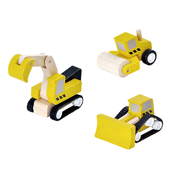 PlanToys 道路工程小車隊