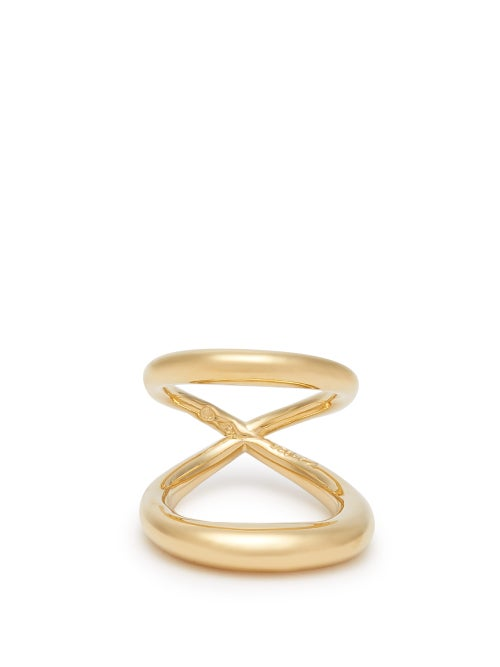Charlotte Chesnais - Surma Gold-plated Sterling Silver Ring - Womens - Gold