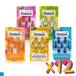 Balea芭樂雅 臉部保養精華時空膠囊 x12卡 (7顆/1卡)
