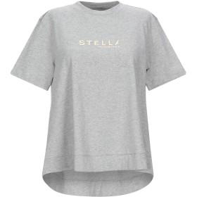 《セール開催中》STELLA McCARTNEY レディース T シャツ グレー 40 コットン 100%