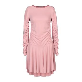 《セール開催中》SEE BY CHLO レディース ミニワンピース&ドレス ピンク S ポリエステル 96% / ポリウレタン 4% / コットン