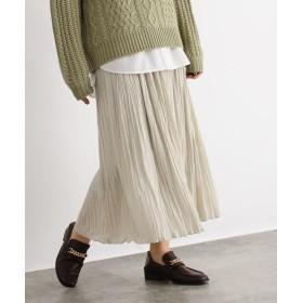 OZOC(オゾック) [洗える]ワッシャープリーツスカート