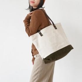 Sobag手作りオリジナルオフホワイトキャンバスサイドバックパック女性の日本のシンプルなショルダーバッグ野生のインジッパーバッグ