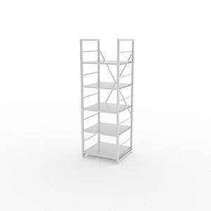 組 - 特力屋萊特 組合式層架 白框/白板色 40x40x128cm