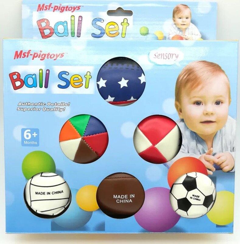 嬰兒手抓觸感知能球