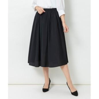 【大きいサイズ】 「入園。入学。卒園。卒業」ギャザースカート(ミディ丈) スカート, plus size skirts