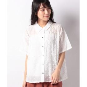 マーコート 【mizuiro ind】dots shirt(OFFWHITE)