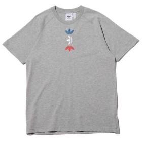アトモス アディダス Tシャツ メンズ グレー M 【atmos】
