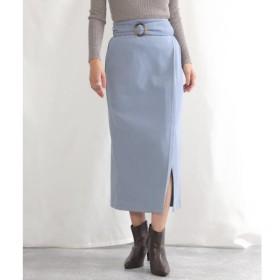 [マルイ]【セール】ラップデザインベルト付スカート/アナップ(ANAP)