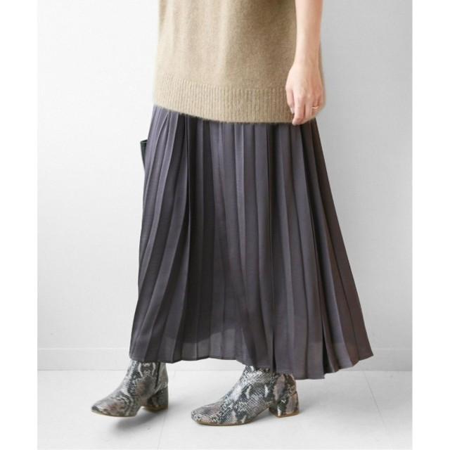 [マルイ] レディススカート(《追加予約3》サテンプリーツスカート◆)/ジャーナルスタンダード レリューム(レディース)(JOURNAL STANDARD relume)