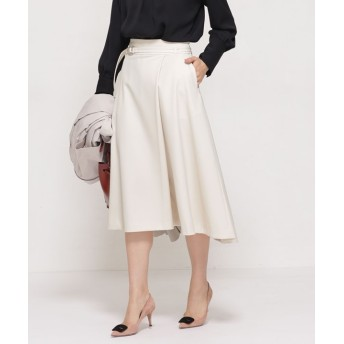 Silk moisture ラップスカート 5000円以上送料無料【公式/ナノ・ユニバース】