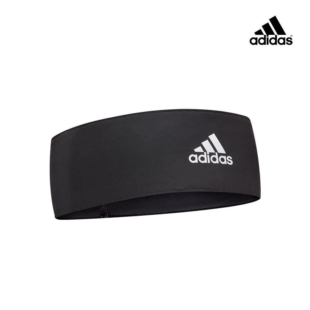 Adidas 專業訓練止滑頭帶 (黑/白)【原廠公司貨保證】