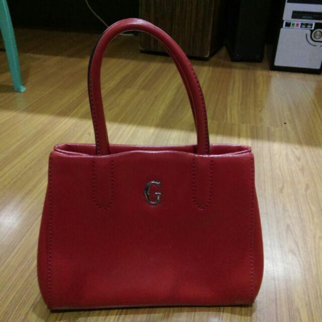 Gillian 紅色小方包