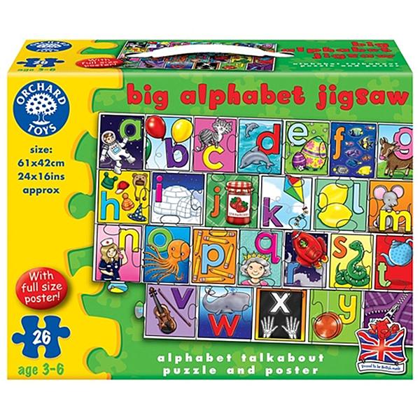 【英國 Orchard Toys】遊戲拼圖-拼字問答 OT-238