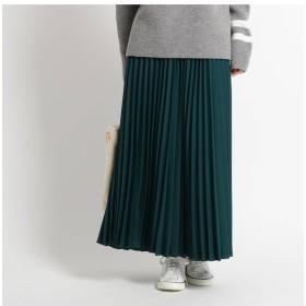 【デッサン/Dessin】 【Sサイズあり、洗える】微起毛ヘリンボンプリーツスカート