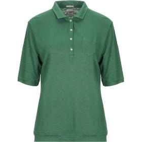 《セール開催中》MASSIMO ALBA レディース ポロシャツ グリーン XL 麻 100%