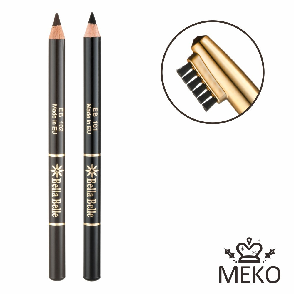 MEKO 貝拉兩用眉筆 (共2色)
