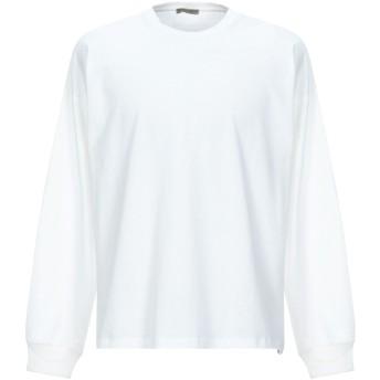 《セール開催中》BOTTEGA VENETA メンズ T シャツ ホワイト 50 コットン 100%
