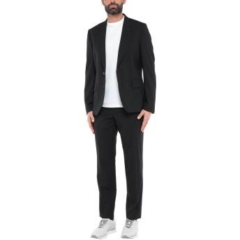 《セール開催中》PAUL SMITH メンズ スーツ ブラック 42 ウール 98% / ポリウレタン 2%