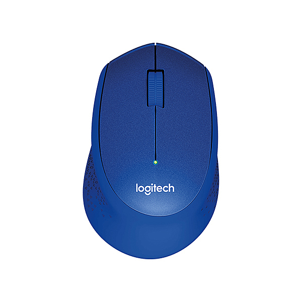 Logitech 羅技 M331 無線滑鼠 藍