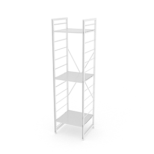 組 - 特力屋萊特 組合式層架 白框/白板色 40x40x158cm