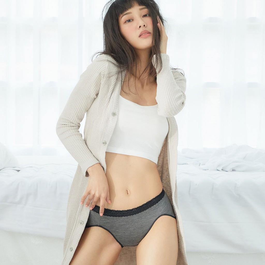 【生理褲】透氣不濕悶。蕾絲防漏中腰生理褲 (日、夜) M-XXL #2511/2512 生理褲推薦 防漏生理褲