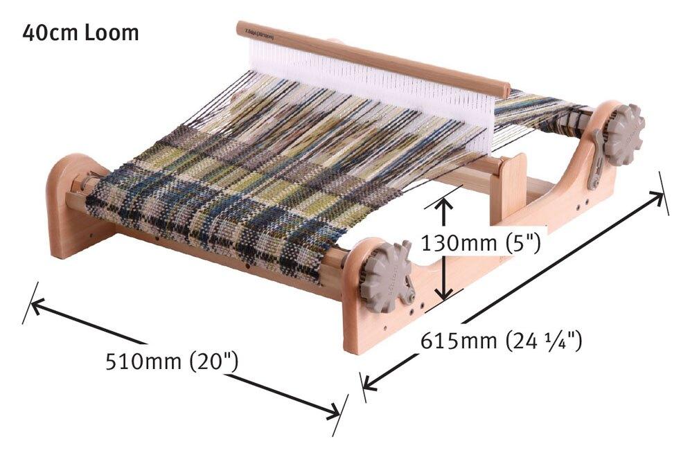 簡易織布機40公分+中文織布機書