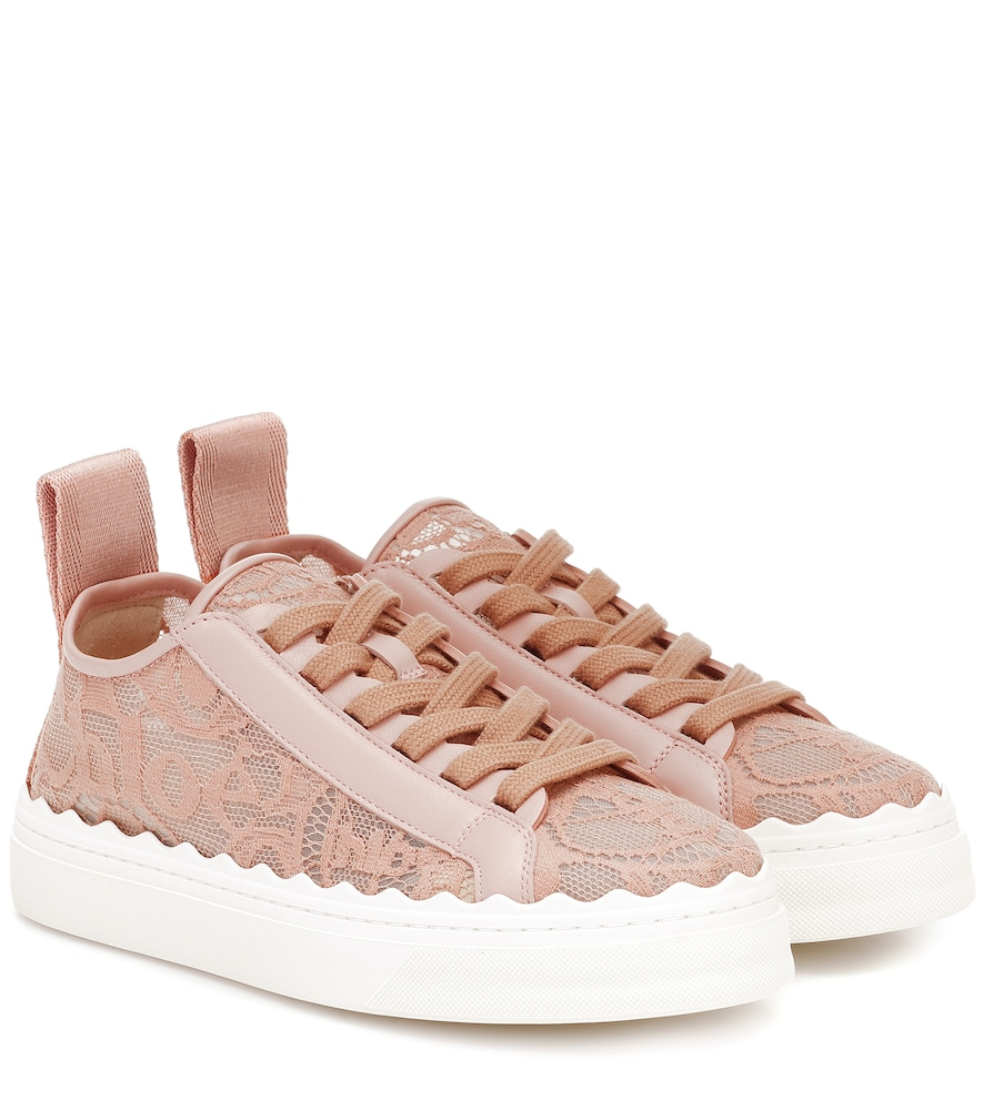 Exclusive to Mytheresa - Lauren lace sneakers