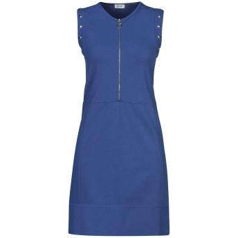 《セール開催中》LIU JO レディース ミニワンピース&ドレス ブルー S レーヨン 65% / ナイロン 32% / ポリウレタン 3%