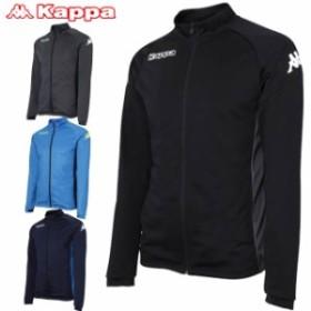 カッパ ジャケット メンズ ニットフルジップジャケット トレーニングジャケット ジップジャケット アウター トップス ウエア ジ