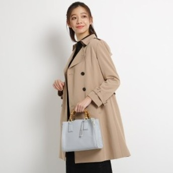 エージー バイ アクアガール(AG by aquagirl)/【ママスーツ入学式 スーツ卒業式 スーツ】【2WAY】バンブーハンドルシボ合皮バッグ