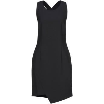 《セール開催中》LIU JO レディース ミニワンピース&ドレス ブラック 46 ポリエステル 92% / ポリウレタン 8%