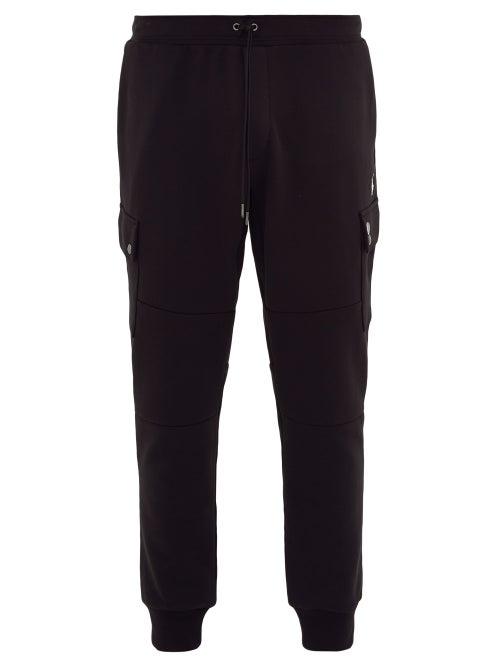 Polo Ralph Lauren - Fleece-backed Jersey Cargo Track Pants - Mens - Black