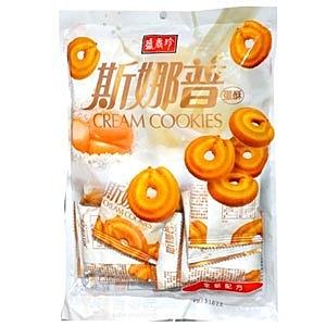 盛香珍斯娜普蛋酥180g【康鄰超市】