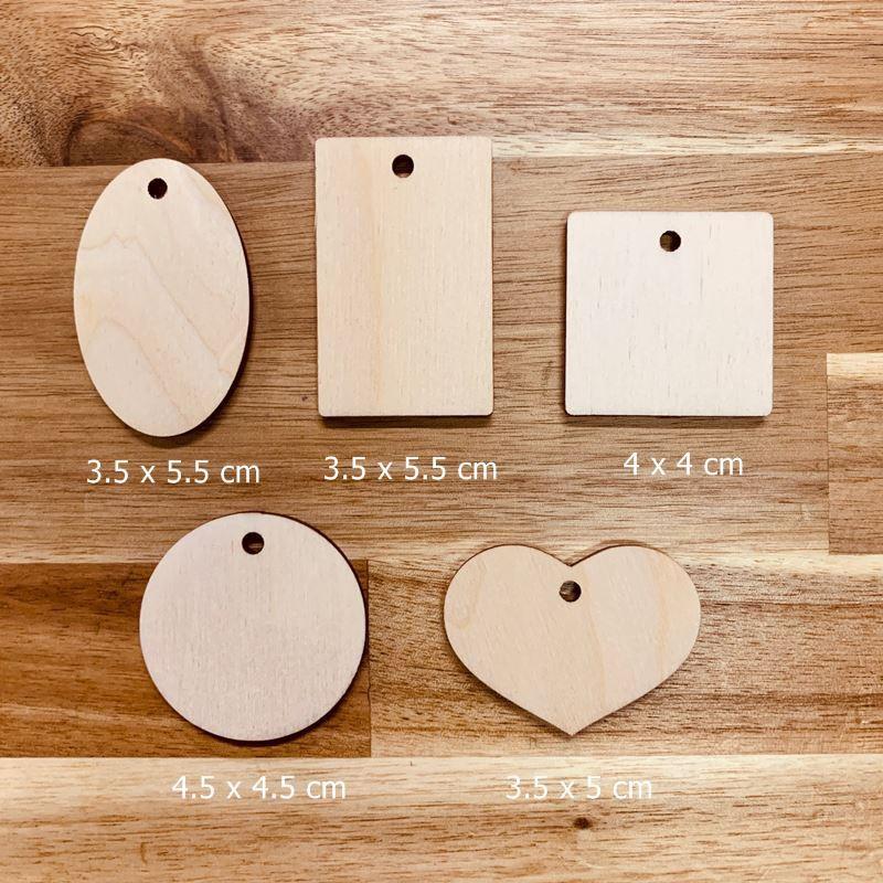 DIY小木牌/3.1mm/小木片/小吊牌/禮物吊牌
