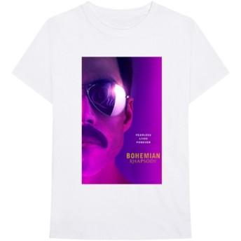 Queen/Bohemian Rhapsody Movie Tシャツ White Lサイズ[UIZZ-13933]