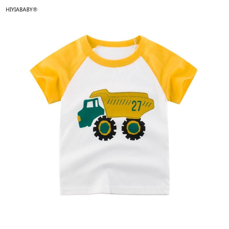 韓版童裝男童短袖T恤純棉汗衫 兒童上衣孩子的衣服