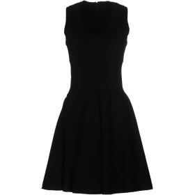 《セール開催中》ALAA レディース ミニワンピース&ドレス ブラック 38 ウール 87% / ポリエステル 13%