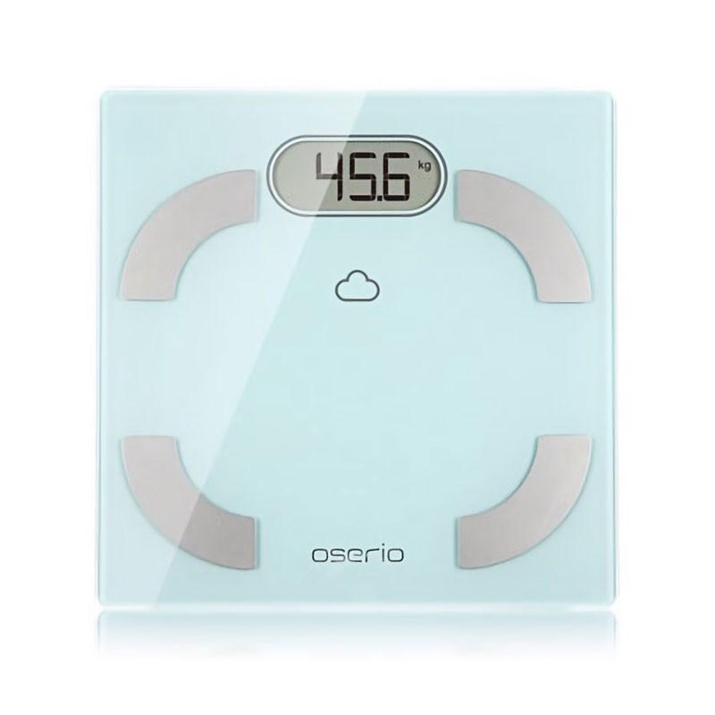 oserio無線智慧體脂計FLG-756(歐瑟若/藍牙體脂機/藍牙體脂肪計/體重機/基礎代謝)