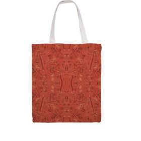 赤の在庫トートバッグ キャンバス トートバッグ レディース 人気 多機能 大容量 通勤 通学 A4サイズ応対