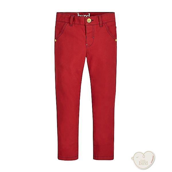 mothercare 橘紅白線設計牛仔褲-LITTLE BIRD(M0JH314)3~8A
