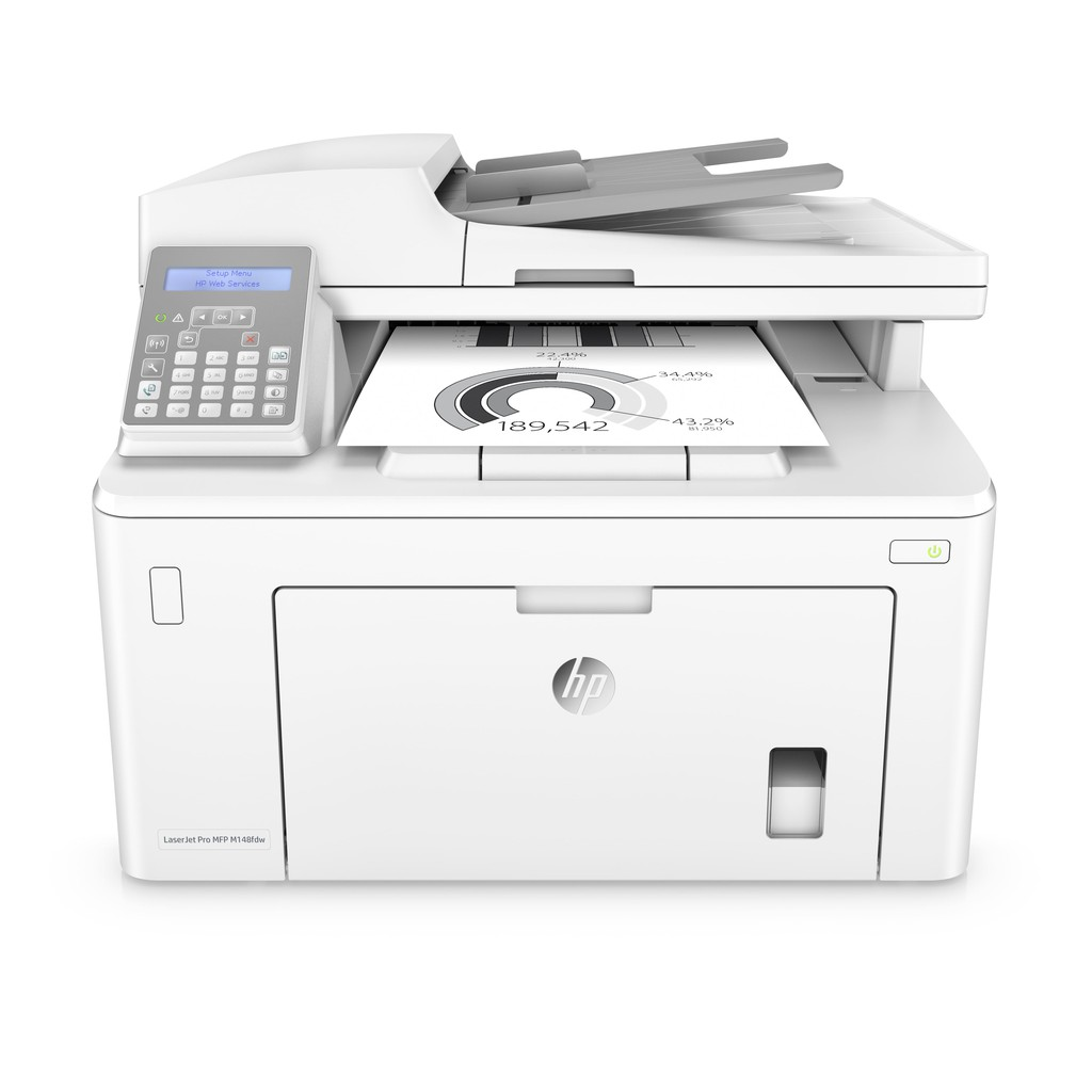 HP LaserJet M148fdw 傳真多功能印表機《黑白雷射》
