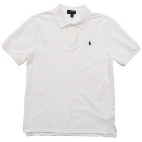 (ポロ ラルフローレン) POLO RALPH LAUREN ボーイズ 半袖 ポロシャツ ポロプレイヤー クラシックフィット 白 ホワイト L(USボーイズサイズ) [32360325] [並行輸入品]
