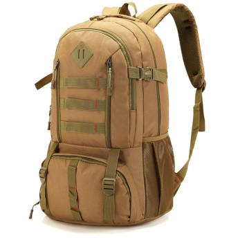 男性バックパック男性用バッグ大容量アウトドアカジュアルバックパックユニセックスブラックトラベルバックパック 35x23x52cm