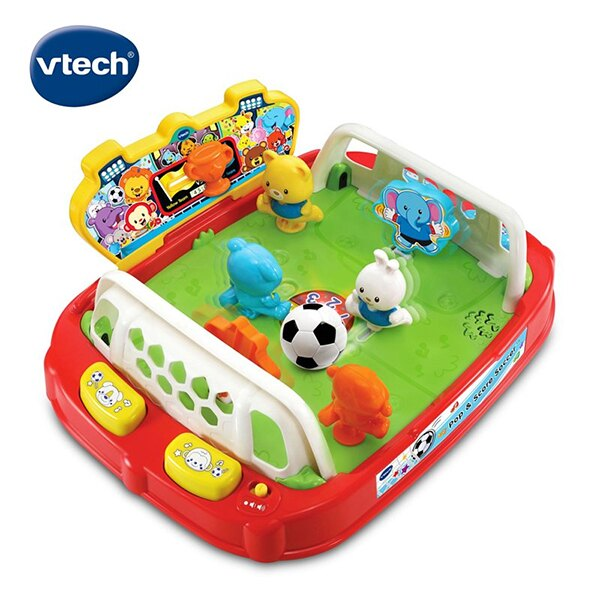 Vtech 趣味動物桌上足球場 / 寶寶玩具