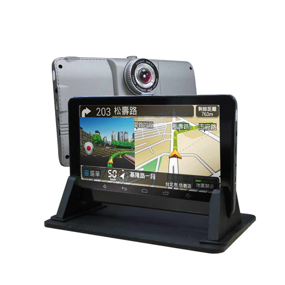 FLYone V6630 前後雙錄行車記錄器 7吋觸控螢幕+Google導航+Android平板(送導航王圖資+32G)