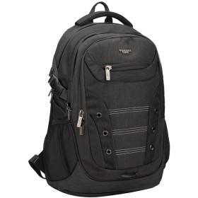 YINDIANビジネスリュック バックパック防水 撥水加工 大容量 軽量 メンズ レディース 兼用 バッグ PCバックパック 多機能 ポケット 通勤 通学 旅行 出張 5色 (ブラック)