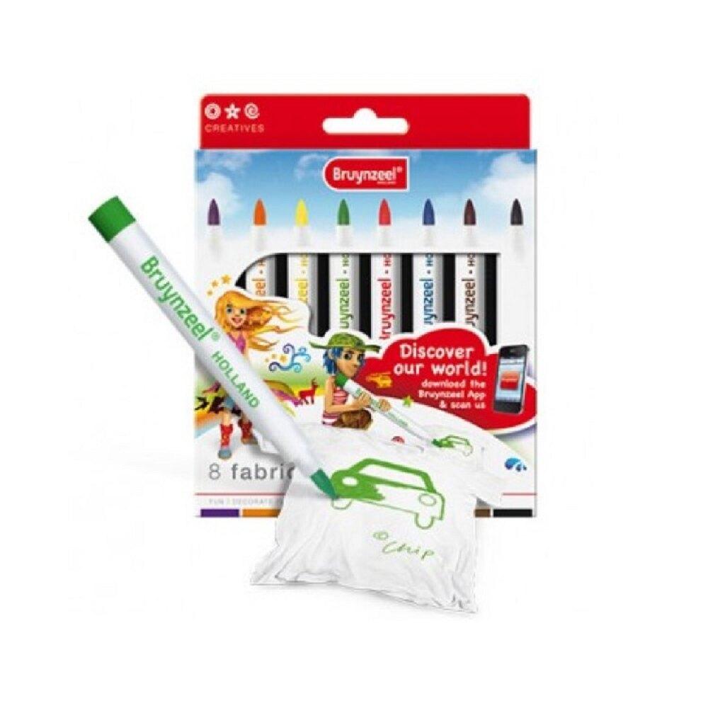 繪圖 AP普思 Z0156 8色繪布彩色筆【文具e指通】量販.團購