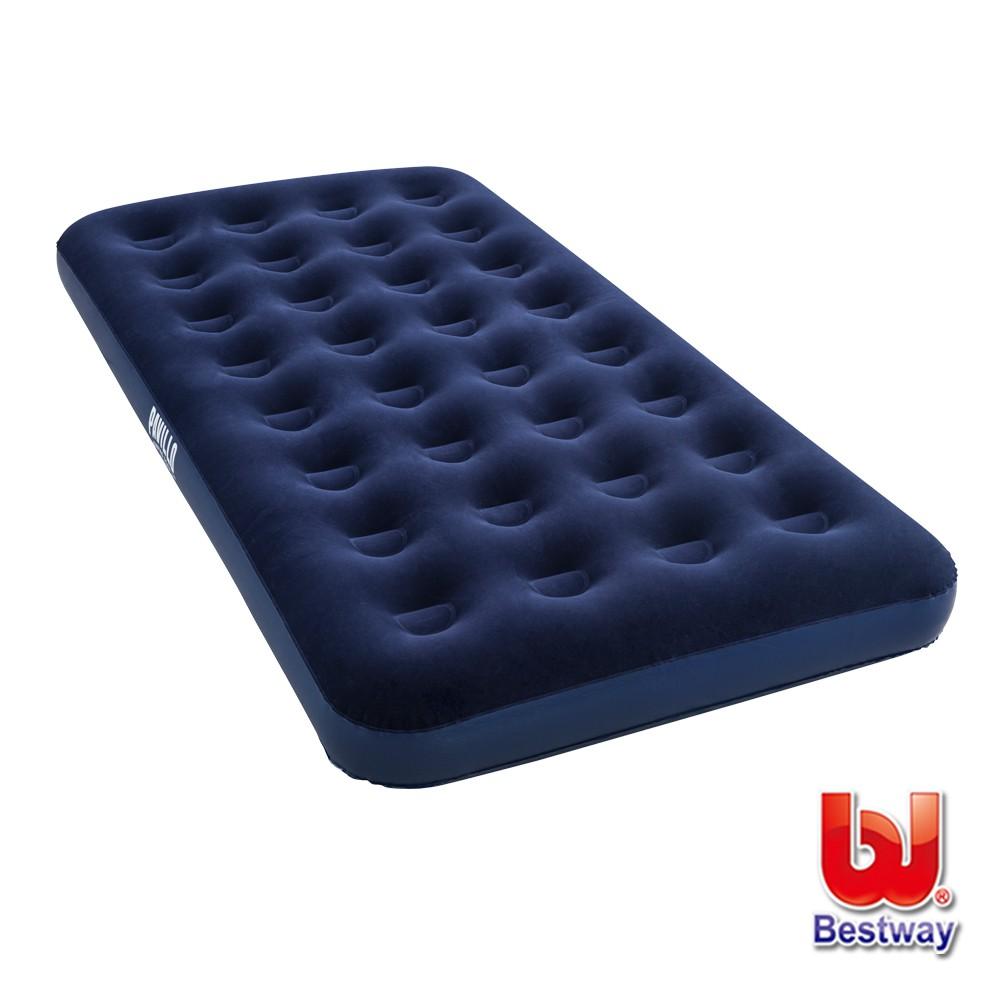 Bestway。單人植絨充氣床-深海藍 67001