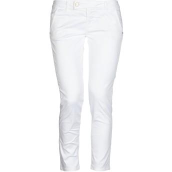 《セール開催中》FRACOMINA レディース パンツ ホワイト 26 コットン 98% / ポリウレタン 2%